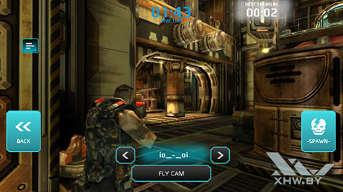 Игра Shadowgun: Dead Zone на Samsung Galaxy J5 (2017)