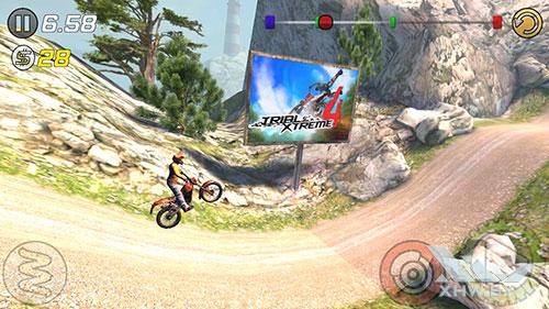Игра Trial Xtreme 3 на Samsung Galaxy J5 (2017)