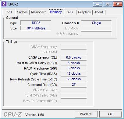 Оперативная память MSI U135DX