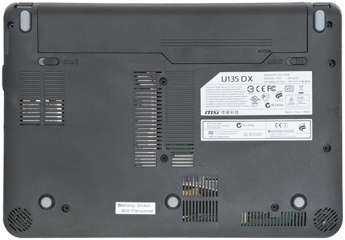 Днище MSI U135DX