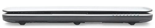 MSI U135DX. Вид спереди