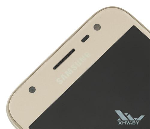 Samsung Galaxy J3 (2017), как и другие модели линейки, получил фронтальную вспышку