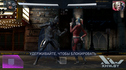Игра Injustice 2 на Samsung Galaxy J3 (2017)
