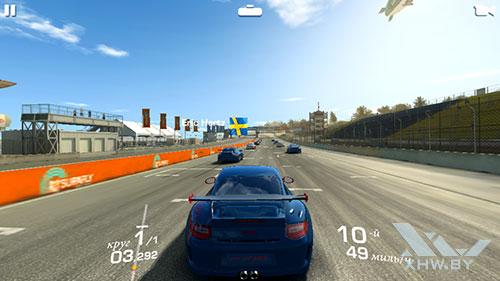 Игра Real Racing 3 на Samsung Galaxy J3 (2017)