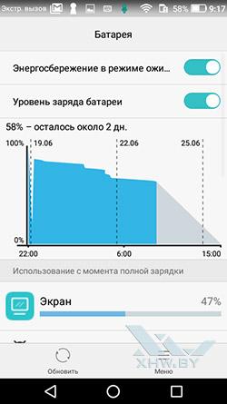 DuraSpeed в Huawei Y3 (2017). Рис 3.