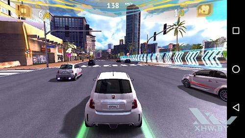 Игра Asphalt 7 на Huawei Y3 (2017)