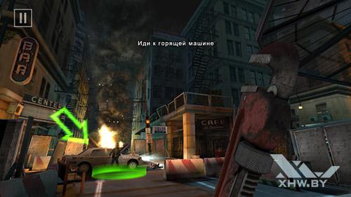 Игра Dead Trigger 2 на Huawei Y3 (2017)