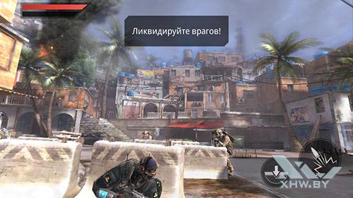 Игра Frontline Commando 2 на Huawei Y3 (2017)