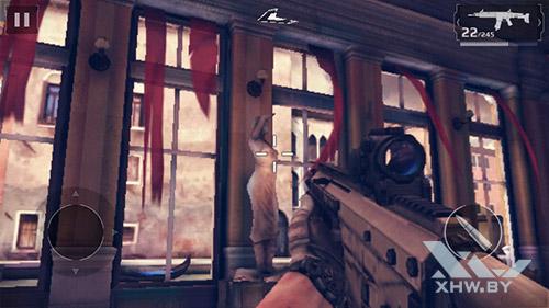 Игра Modern Combat 5 на Huawei Y3 (2017)