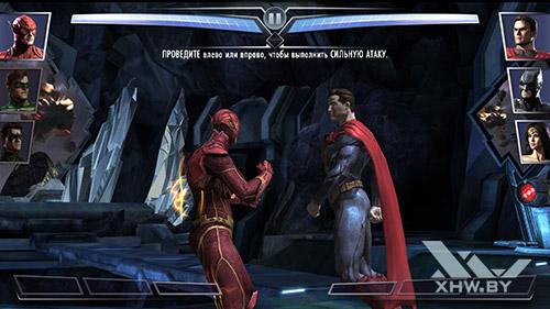 Игра Injustice: Gods Among Us на Samsung Galaxy J7