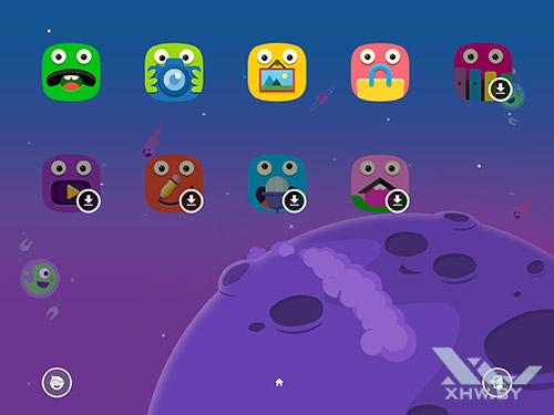 Детский режим Samsung Galaxy Tab S3. Рис 3