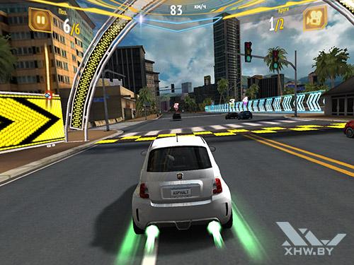 Игра Asphalt 7 на Samsung Galaxy Tab S3