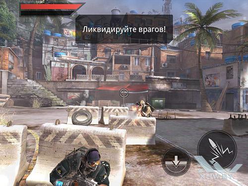 Игра Frontline Commando 2 на Samsung Galaxy Tab S3