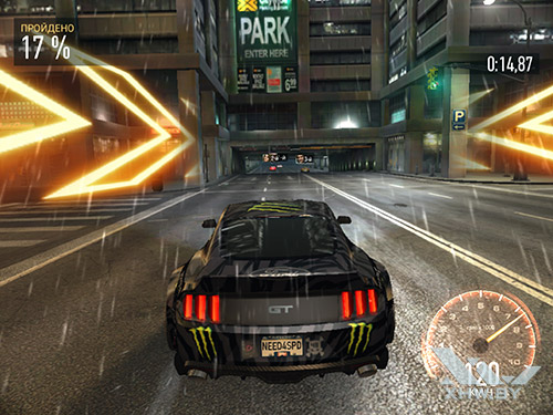 Игра Need For Speed: No Limits на Samsung Galaxy Tab S3