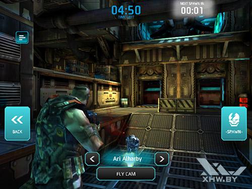 Игра Shadowgun: Dead Zone на Samsung Galaxy Tab S3