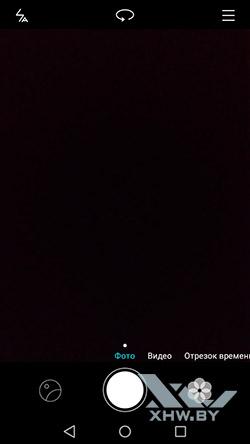 Интерфейс основной камеры Huawei Y5 (2017). Рис 1