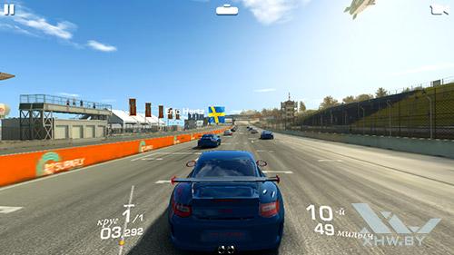 Игра Real Racing 3 на Huawei Y5 (2017)