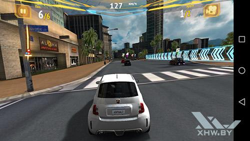 Игра Asphalt 7 на Huawei GR3 (2017)