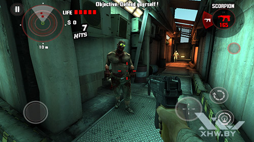 Игра Dead Trigger на Huawei GR3 (2017)