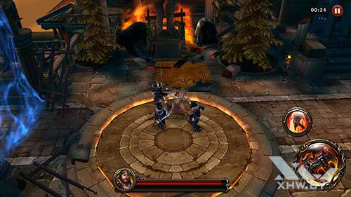 Игра Eternity Warriors 4 на Huawei GR3 (2017)