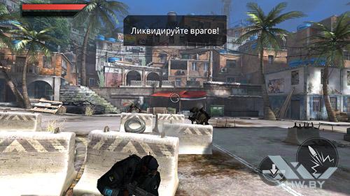 Игра Frontline Commando 2 на Huawei GR3 (2017)