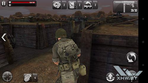 Игра Frontline Commando: Normandy на Huawei GR3 (2017)