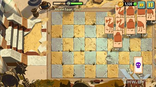 Игра Plants vs Zombies 2 на Huawei GR3 (2017)