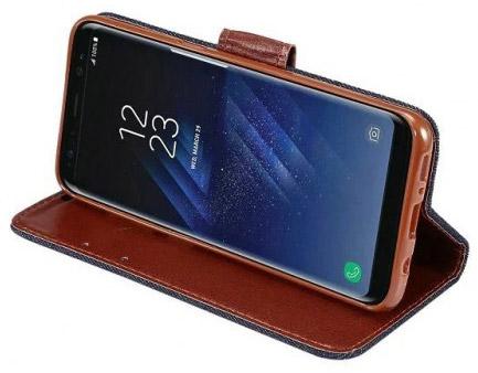 Кожаный чехол для Galaxy S8+