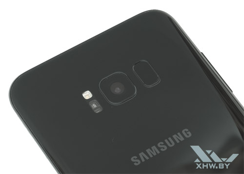 Камера Samsung Galaxy S8+