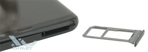 Лоток на Samsung Galaxy S8+