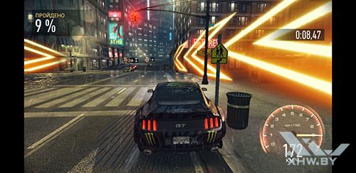 Игра Need For Speed: Most Wanted на Samsung Galaxy S8+