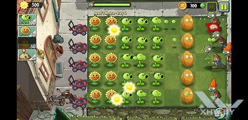 Игра Plants vs Zombies 2 на Samsung Galaxy S8+