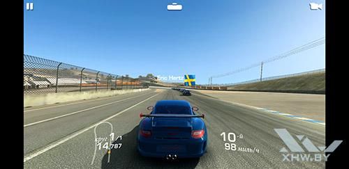 Игра Real Racing 3 на Samsung Galaxy S8+