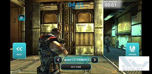 Игра Shadowgun: Dead Zone на Samsung Galaxy S8+