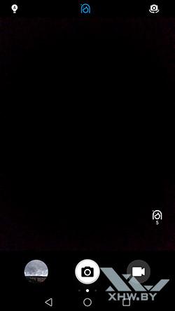 Интерфейс фронтальной камеры Huawei Y7 . Рис 1.