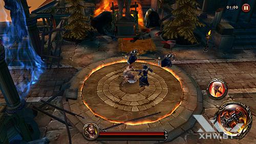Игра Eternity Warriors 4 на Huawei Y7