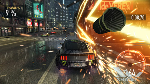 Игра Need For Speed: No Limits на Huawei Y7