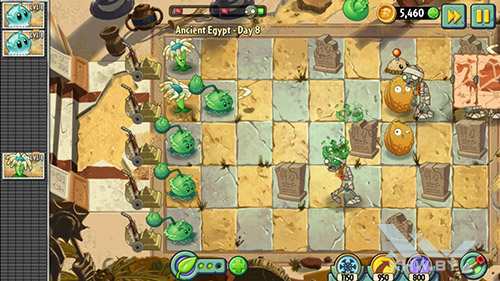 Игра Plants vs Zombies 2 на Huawei Y7