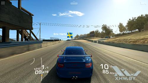 Игра Real Racing 3 на Huawei Y7