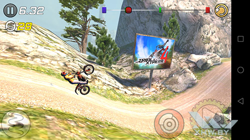 Игра Trial Xtreme 3 на Huawei Y7