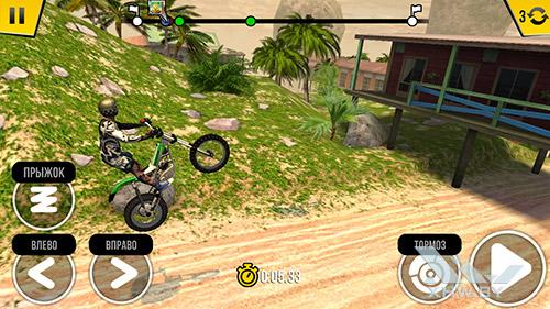 Игра Trial Xtreme 4 на Huawei Y7