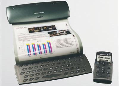 Концепт Ericsson со скручивающимся дисплеем