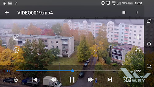 HD универсальный плеер – мультимедийный плеер Android. Рис 3