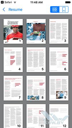 Сохранение PDF на iPhone. Рис 3