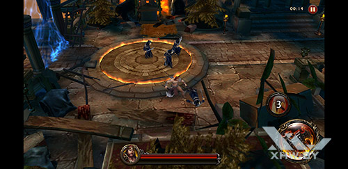 Игра Eternity Warriors 4 на Samsung Galaxy Note 8
