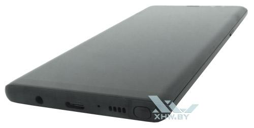 Нижний торец Samsung Galaxy Note 8