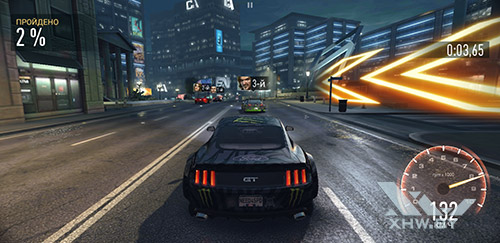 Игра Need For Speed: No Limits на Samsung Galaxy Note 8