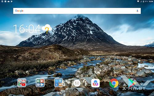 Домашний экран Lenovo Tab 4 10