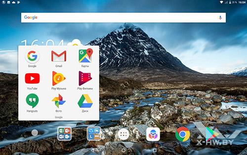 Приложения Google на Lenovo Tab 4 10