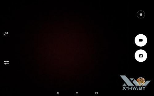 Интерфейс фронтальной видеокамеры Lenovo Tab 4 10